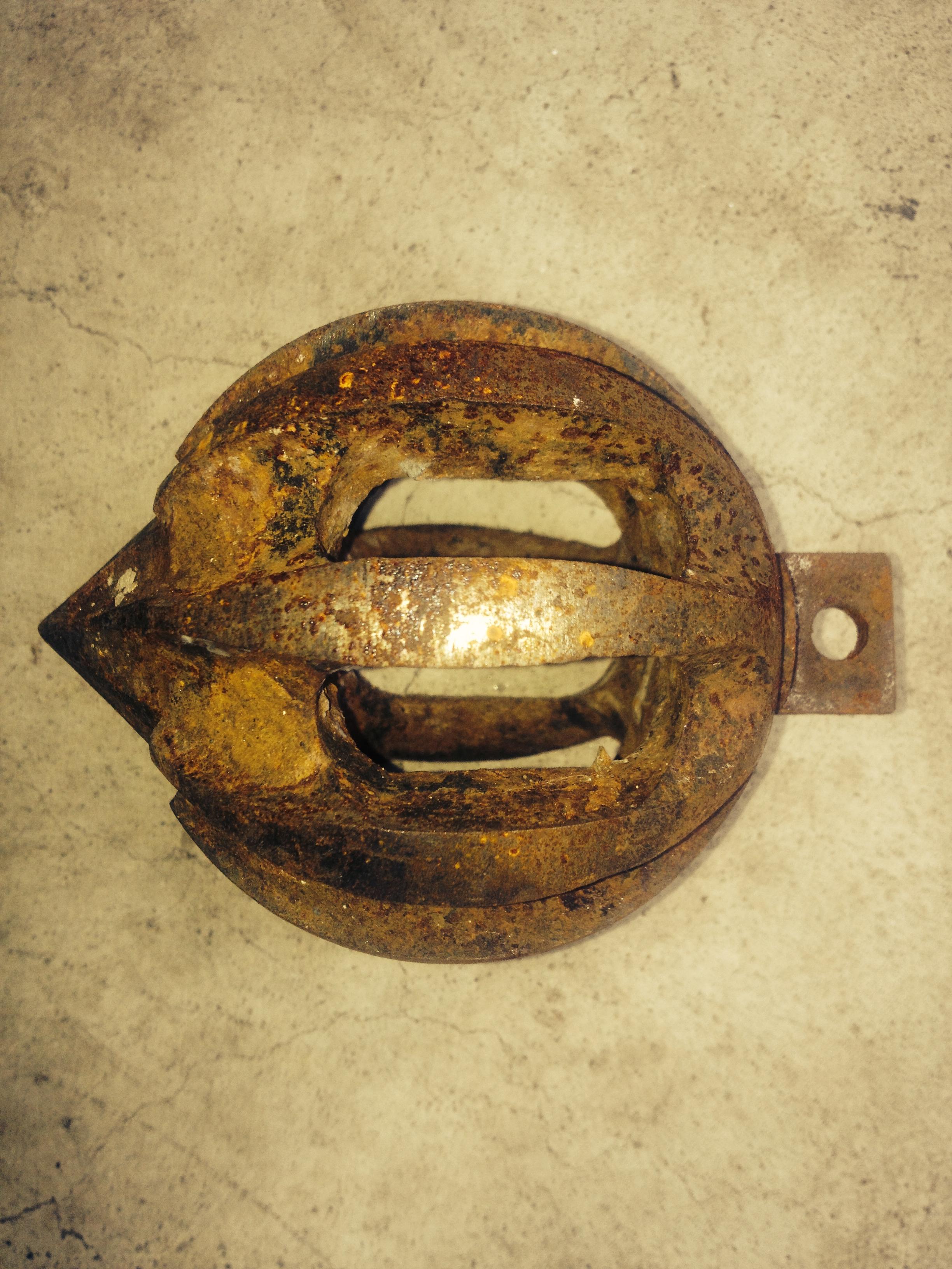 round steel head