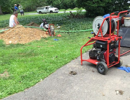 Fred to the rescue on a Harford County septic system replacement with complications